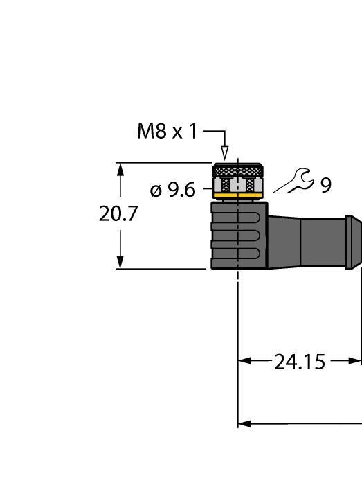 Cabo sensor de temperatura