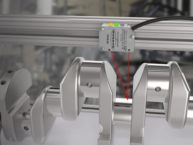 Sensor de distância laser
