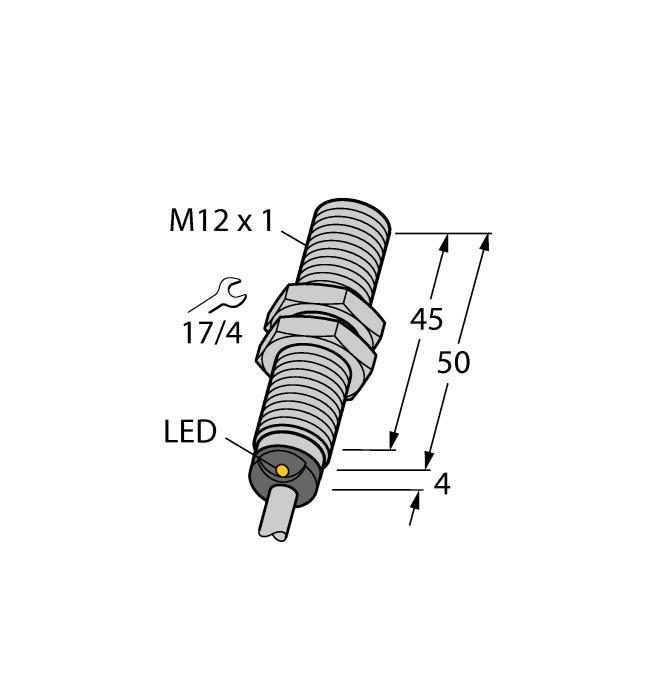 Sensor indutivo 4mm