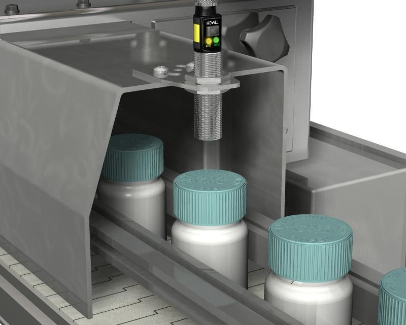 Sensor de temperatura infravermelho industrial