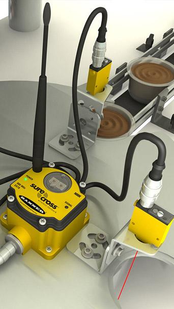 Aplicação de Sensores e Rede Wireless Industrial