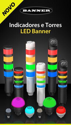 Indicadores e Torres - LED Banner