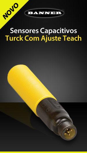 Sensores Capacitivos - Turck com Ajuste Teach